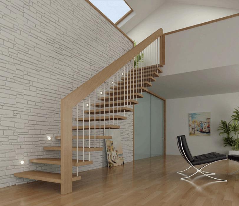 Escaleras patagonia flooring for Apliques para subida de escalera